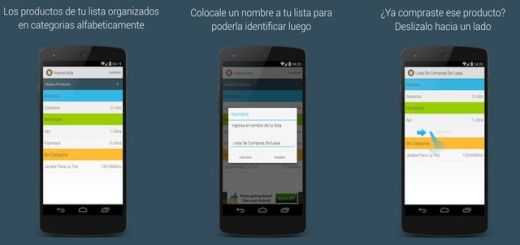 Lista de Compras, app Android que te ayuda a hacer listas de compras
