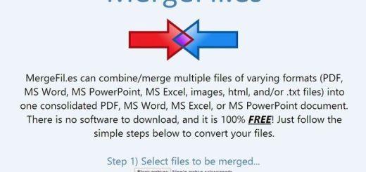 MergeFil, crea un único documento a partir de varios en distintos formatos