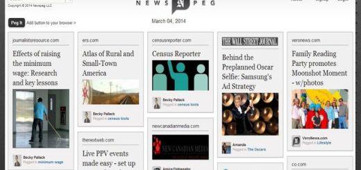 Newspeg, red social para compartir y curar noticias al estilo Pinterest