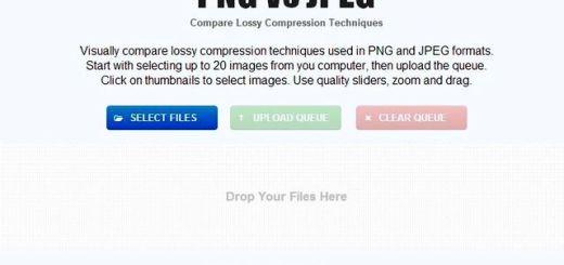 PNG vs JPEG, utilidad web para comparar la calidad de imágenes PNG y JPEG