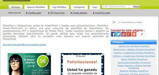 Colección de plantillas y fondos para crear presentaciones PowerPoint