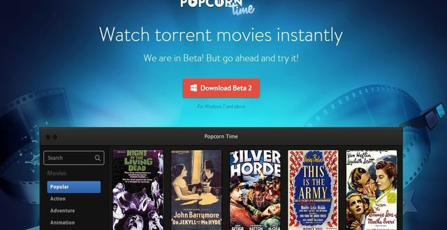 Popcorn Time, ve los vídeos en streaming sin descargar los torrents