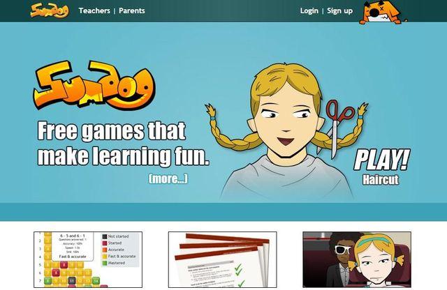 Sumdog, juegos educativos para que los niños aprendan matemáticas