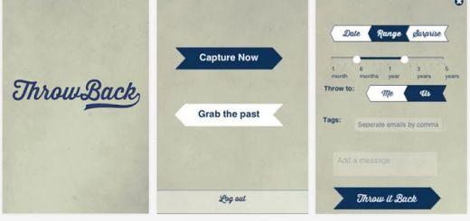 Throwback, aplicación móvil para enviar fotografías al futuro