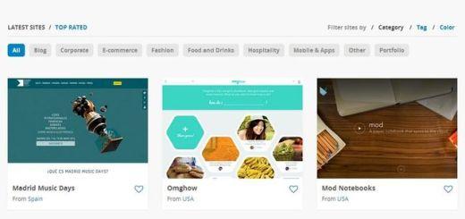 Top Trending Web, un lugar para la inspiración de los diseñadores web