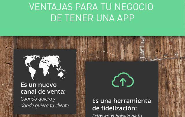 Conoce las ventajas para tu negocio de tener una app móvil (infografía)