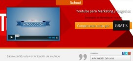 "Curso gratis por tiempo limitado: ""YouTube para Marketing y Negocios"""