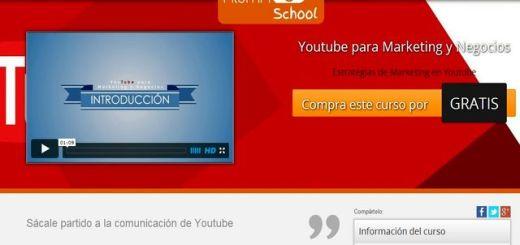 """Curso gratis por tiempo limitado: """"YouTube para Marketing y Negocios"""""""