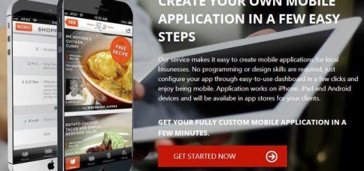 Appin5minutes, crea apps móviles para pequeños negocios sin programar