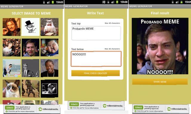 Meme Generator, crea y comparte divertidos memes desde tu Android
