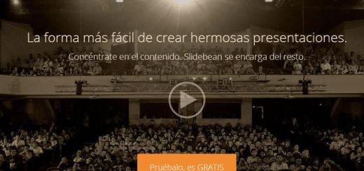 Slidebean, crea bonitas presentaciones desde la web y compártelas