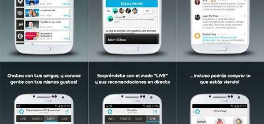 vuQio, aplicación móvil española de social TV y guía de televisión