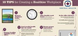 10 útiles consejos para crear un saludable lugar de trabajo (infografía)