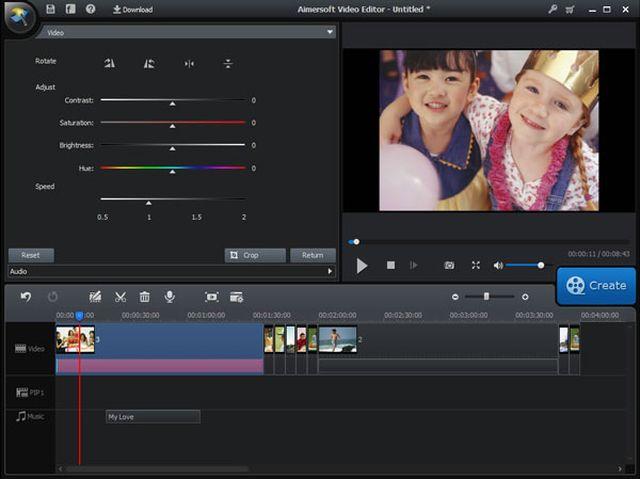 Aimersoft Video Editor, uno de los mejores editores de vídeo