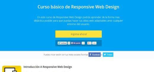 Sigue gratis este curso básico de diseño web responsivo