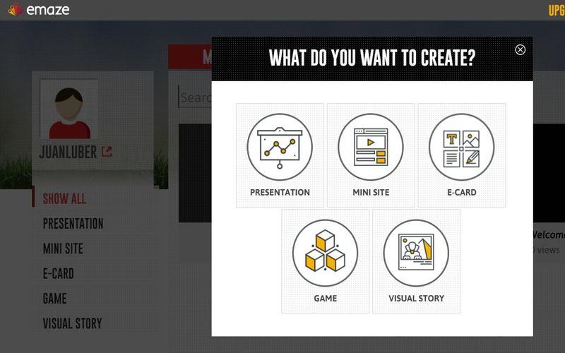 Emaze: crea online y fácilmente todo tipo de presentaciones
