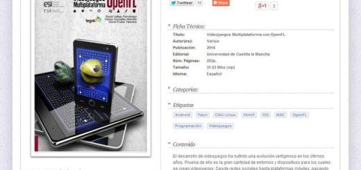 """Ebook para aprender a crear """"Videojuegos Multiplataforma con OpenFL"""""""