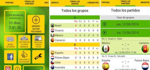 Jalvasco Copa del Mundo, la información del mundial de Brasil en tu Android