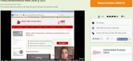 Curso gratuito de Posicionamiento web SEM y SEO