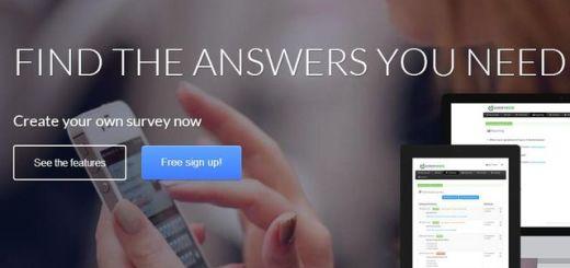 SurveyRock, excelente plataforma para crear gratis encuestas profesionales