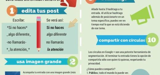 Entradas perfectas Google Plus