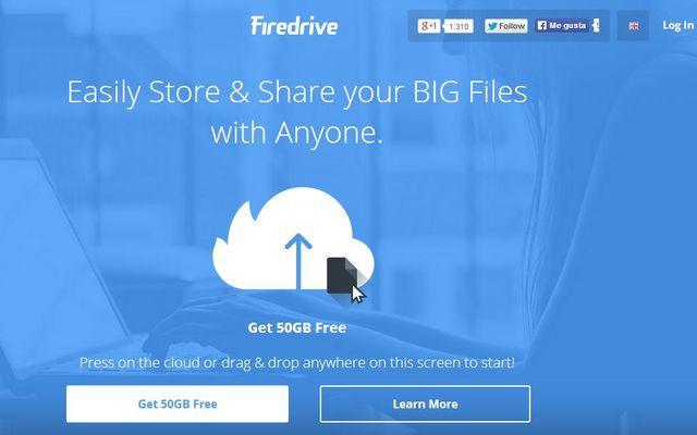 Firedrive, almacenamiento en la nube con 50 GB gratuitos