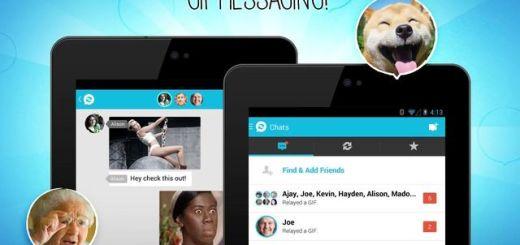 Relay GIF Messenger, mensajería móvil con animaciones GIF