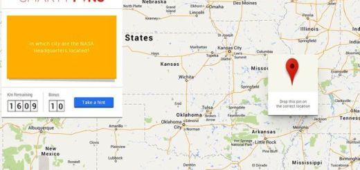 Smarty Pins, juego de Trivial basado en Google Maps