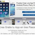 The App Maker: crea apps para iPhone, iPad, Kindle y Android