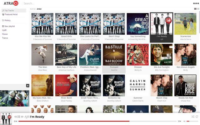 Atraci, soft gratis para escuchar música que mejora a Spotify