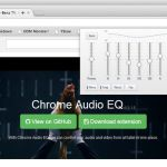 Chrome Audio EQ, un ecualizador para vídeos y audios de Chrome