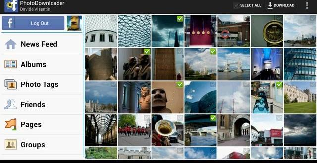 MyPhotoDownloader, app Android para descargar fotos de Facebook