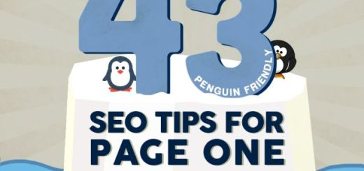 Infografía con 43 consejos SEO a tener en cuenta