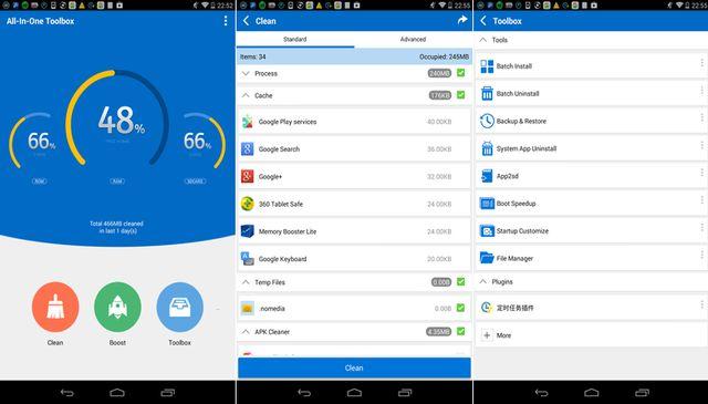 All in One Toolbox, una app para limpiar y agilizar nuestro Android