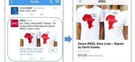 Twitter experimenta las ventas desde sus apps