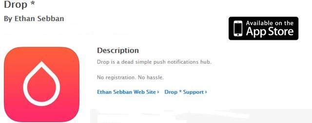 Drop, las noticias que te interesan en forma de notificaciones