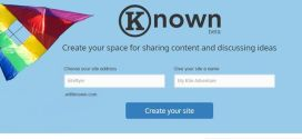 Known: crea una web para compartir audios, enlaces, fotos y publicaciones