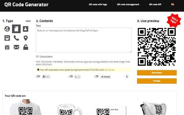 QR Code Generator: completo generador de códigos QR