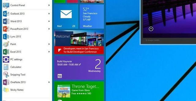Windows 9 gratis para usuarios del 8 y presentación de la previa hoy