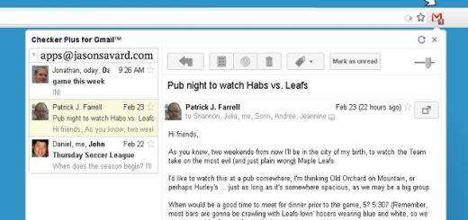 Checker Plus for Gmail, notificaciones y gestión del correo de Gmail en Chrome