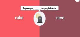 Un juego en línea para mejorar nuestra ortografía