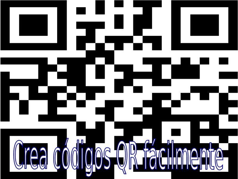 Tutorial para crear códigos QR sin descargar ni instalar nada