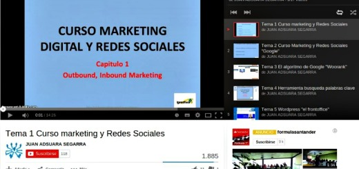 Curso marketing Digital y Redes Sociales