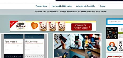 Freebbble: extraordinario banco de recursos gratis para diseño