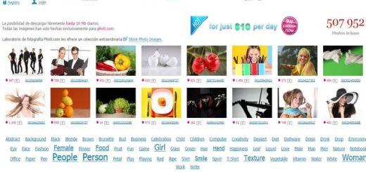 Photl: otro interesante banco de imágenes libres
