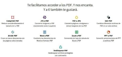 Smallpdf: suite online de herramientas para trabajar con PDF