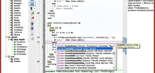 SynWrite: poderoso editor de código para múltiples lenguajes de programación