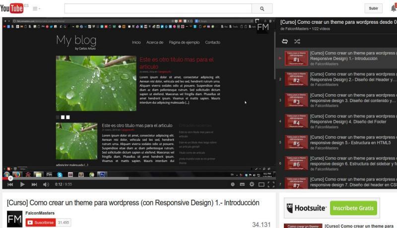 Curso gratuito para aprender a crear temas WordPress