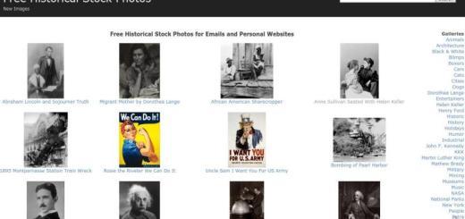 Gran colección de fotos históricas libres para uso personal