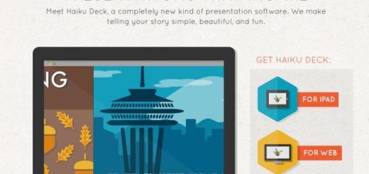 Haicku Deck: excelente herramienta para crear presentaciones